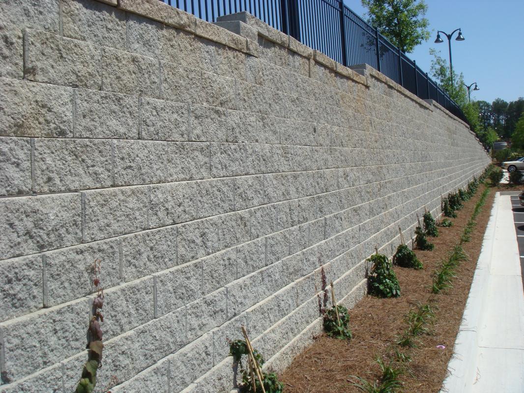 Modular Block Walls Reinforced Wall Systems
